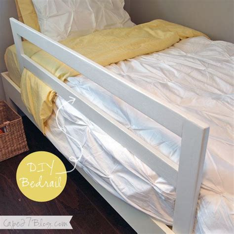 Diy Toddler Bed Rail by 25 Best Ideas About Bed Rails On Bunk