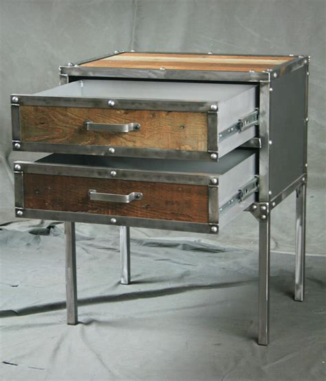 Combine 9   Industrial Furniture ? Industrial Modern End