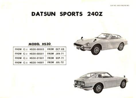Datsun Vin Decoder by Z Design