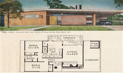 mid century home plans mid century modern house plans mid century modern ranch