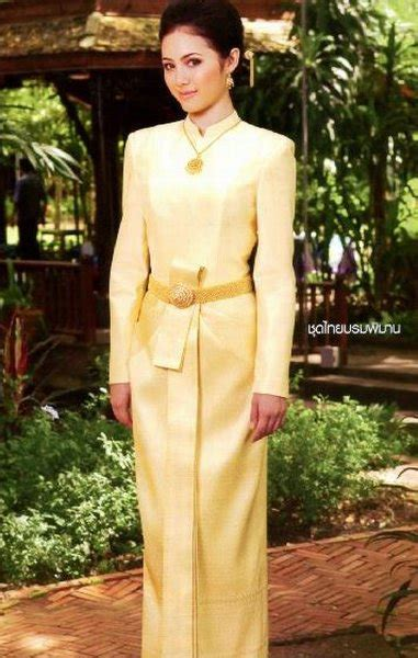 Blouse Ribbon Songket thai real silk woven songket fabric shirt wedding