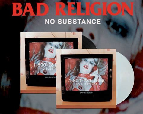 Cd Bad Religion No Subtance bad religion announce re release of no substance