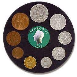 British 1948 Coin Set