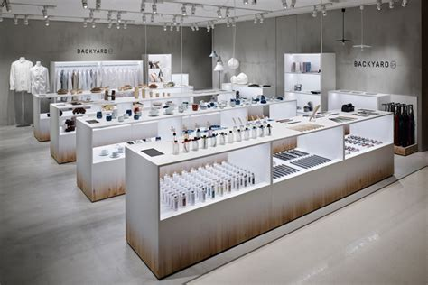 backyard store backyard by n store by nendo yokohama japan 187 retail