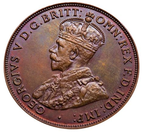 the proof 1930 penny australia s most valuable coin on the tv sterling and currency