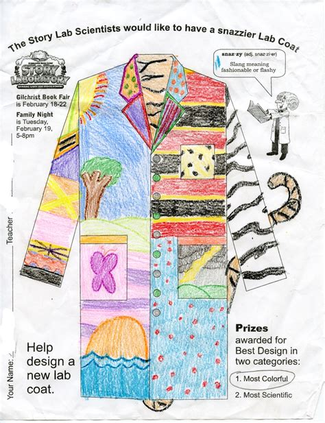 design lab coat 17 best images about story laboratory lab coat design