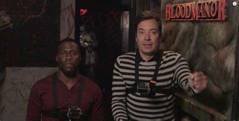 kevin hart haunted house watch kevin hart fallon and a haunted house jetmag