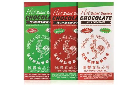 hot salted sriracha chocolate    candy industry