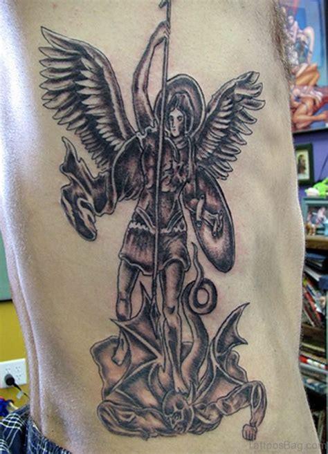tattoo angel vs devil 60 wonderful angel tattoos on rib