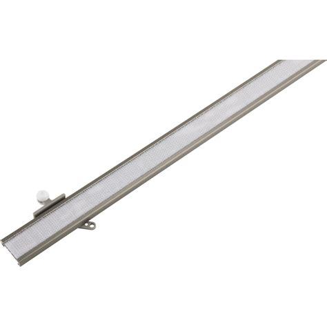 binario tende pannello binario per tende a pannello 60 cm acciaio acquista da obi