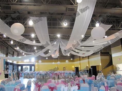 online get cheap wedding ceiling drapes aliexpress com