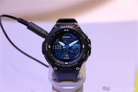 Smartwatch Casio casio pro trek wsd f20 smart android wear for the outdoor warriors lowyat net