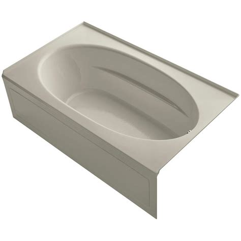 Tile Flange For Bathtub by Kohler Windward 6 Ft Right Drain Bathtub With Tile
