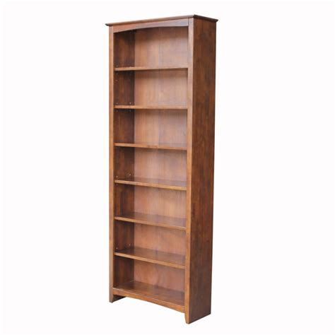 espresso finish bookcase kmart