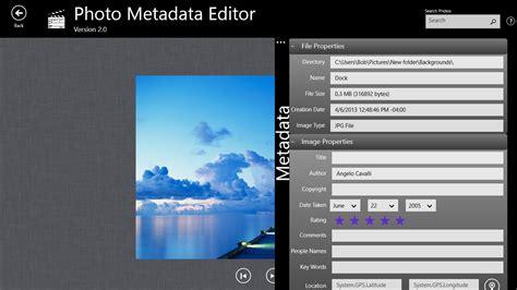 photo editor description photo metadata editor for windows 10 free on