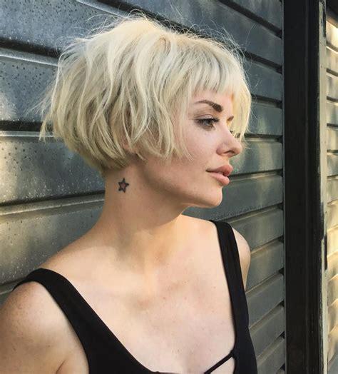 fresh short blonde hair ideas