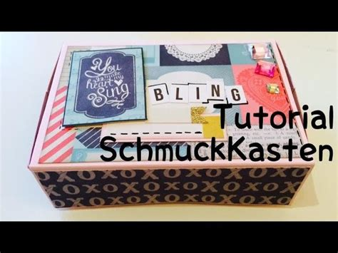 scrapbooking tutorial deutsch scrapbook schmuckk 228 stchen diy tutorial deutsch