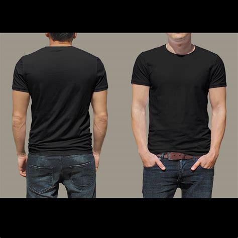 Front Back black t shirts front and back www pixshark images