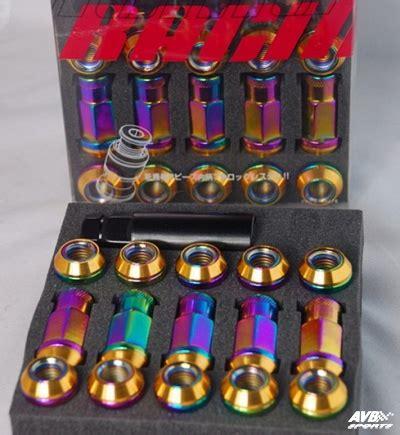Baut Lug Nut D1 Spec d1 spec lug nuts m12x1 5 avb sports car tuning spare parts