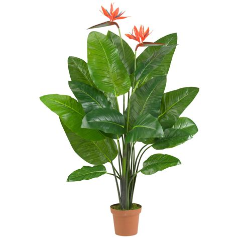 artificial bird  paradise plant potted