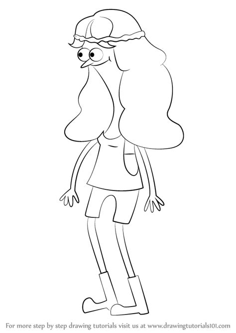 learn how to draw belle pepper from sanjay and craig