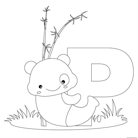 printable alphabet animal coloring pages animal alphabet letters to print and color letter p for