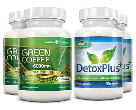 Coffee Detox Diet by Green Coffee Bean Detox Diet Cleanse 6000mg 2 Month Pack