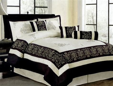 black and ivory bedding ebay