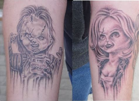 bride of chucky tattoo chucky with knife www pixshark images