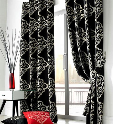 White Curtains Black Trim Inspiration Stunning White Curtains With Gray Pattern Inspiration With Sustainable Pals