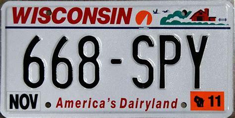 Wisconsin Vanity Plates by Wisconsin 2 Y2k