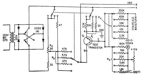 diode curve tracer schematic diode curve tracer schematic 28 images simple diode curve tracer basic circuit circuit