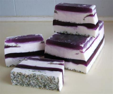 Wholesale Handmade Soap Loaf - 3lb lavender soap loaf vegan soap loaf handmade
