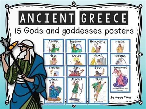 list of roman deities wikipedia the free encyclopedia 15 ancient greece mythology gods and goddesses posters by