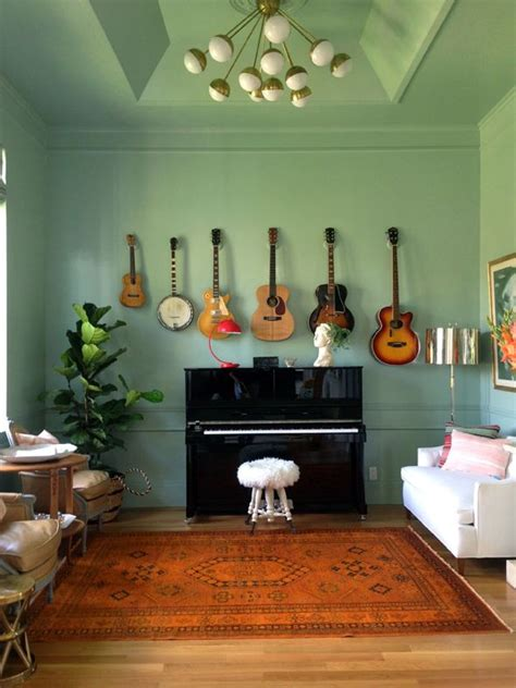 living room song hang tj s guitars all together in one place like this