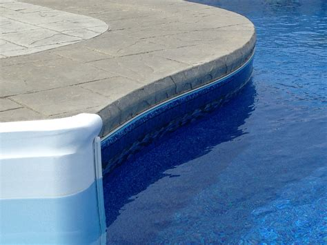 imperial ashlar slate stamped concrete pool deck