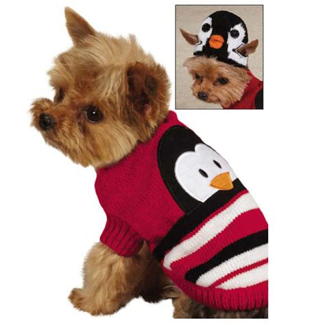 puppy sweater piggyback pals sweater set penguin baxterboo