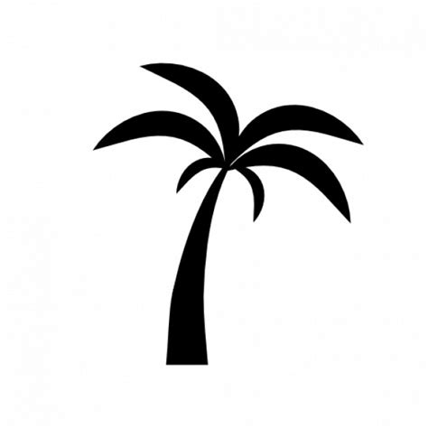 palm tree svg palm tree silhouette 2 icons free download