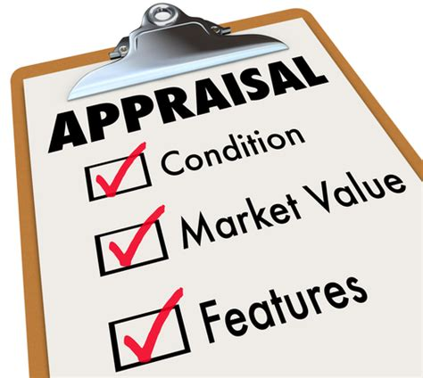 taking of your home appraisal