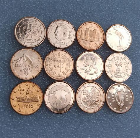 aliexpress euro 12 pcs set coins of european union 12 states 1 cent
