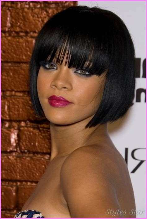 rear view black short haircuts for black women rear view bob cuts for black women rear view bob cuts for