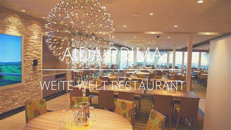 aidaprima marktrestaurant aidaprima weite welt restaurant