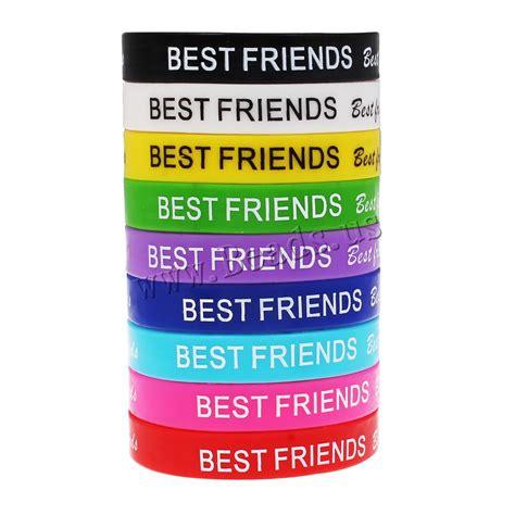 Silicone Friend popular best friend bracelets buy cheap best friend