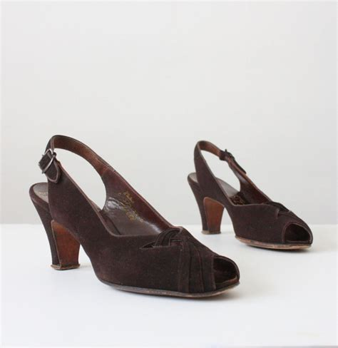 1940s shoes 1000 images about 1940s footwear on