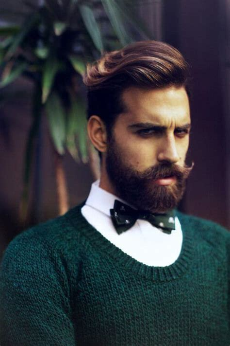 hairstyles that go with a moustache the best beard styles