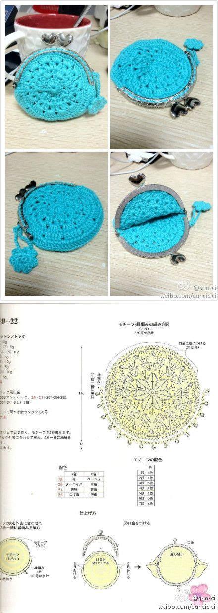 crochet bag pattern with diagram pinterest
