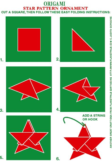 Origami Terminology - planetpals free recycle crafts origami patterns ideas