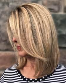 hairstyles for 40 year old woman trendy long bob for 40