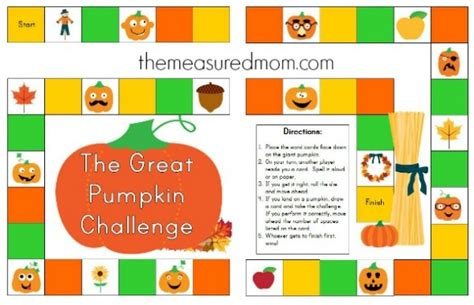 printable board games for spelling free spelling game for fall use with any word list