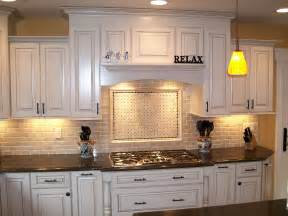 Best White Kitchen Cabinets White Wooden Kitchen Cabinet With Black Counter Top And Stove Also Tile Back Splash Of